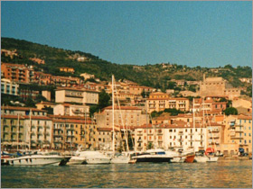 The harbour at Monte Argentario